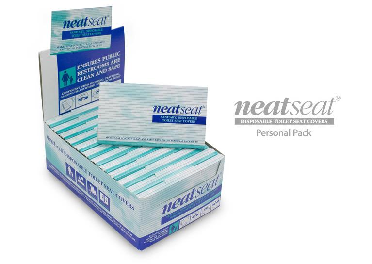 Personal Packs. NeatSeat Toilet Seat Covers ...